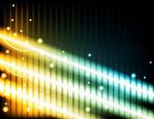 Abstract achtergrond - energiestralen — Stockvector