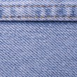 Blue jean texture pattern — Stock Photo #9052449