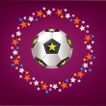 Fondo de fútbol — Foto de Stock