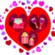Stockfoto: Valentines background