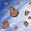 Royalty-Free Stock Photo: Rockfall.