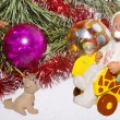 Christmas composition — Stock Photo #8080538