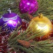 Christmas tree decorations — Stock Photo #8344467