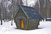 Ancien parc en hiver. — Photo