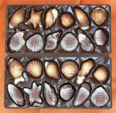 Set of chocolate sweets — Stock Photo