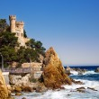 Castle Lloret de mar — Stock Photo