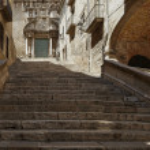 Street of Girona — Stock Photo