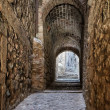 Street of Girona — Stock Photo