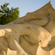 Stock Photo: Sand sculpture - Octopus