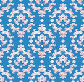 Vector decorative seamless pattern — Stock Vector