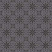 Vector seamless pattern with abstract rosettes — Vetor de Stock