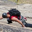 Rock climber — Stock Photo #8252575