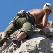 Rock climber — Stock Photo #8353189