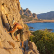 Rock climber — Stock Photo #8353226