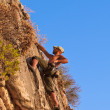 Rock climber — Stock Photo #8353245