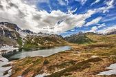 Tramonto in montagna — Foto Stock