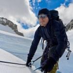 ice horolezec — Stock fotografie