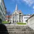 Royalty-Free Stock Photo: Cathedral of Lausanne Switzerland