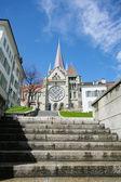 Cathédrale de lausanne en suisse — Photo
