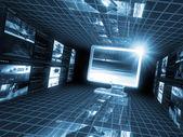 从概念系列全球业务的最佳互联网概念。 — 图库照片