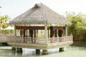Beautiful House over mangrove ready to occupy — Stock Photo