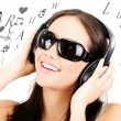 Listening to Music — Stock Photo #9535551
