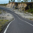Stock Photo: Winding roads and decrease