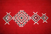 Motifs and designs on the carpet — Stock Photo