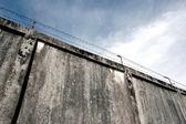 Der Gefängnismauern — Stockfoto