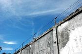 De gevangenis muren — Stockfoto