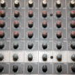 Details of the control board sound mixer — Lizenzfreies Foto