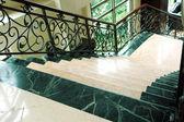 Hotel stairs — Stock Photo