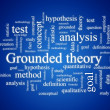 Grounded theory. - Stock Photo