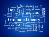 Grounded theory. — Stock Photo