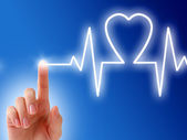 Heartbeat. — Stock Photo