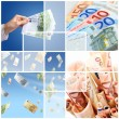 Stock Photo: Money concept.