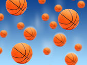 Basketball balls. — Stock Photo