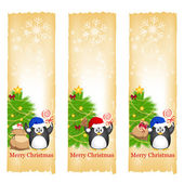 Christmas banners — Vetorial Stock