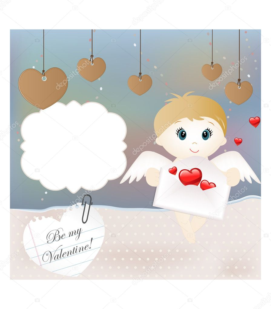 Valentine card  — Stock Vector #9218299