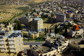 Aerial view of Bethlehem residential district — Stock Photo