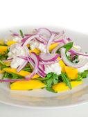 Delicious Rucola Salad — Stock Photo
