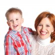 Mother and her son together — Stock Photo