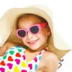 Beach girl. — Stock Photo