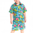 Little cute boy dressed in beach clothes — Stock Photo