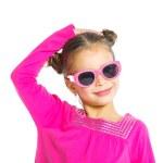 Little fashionable girl — Stock Photo
