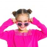Little fashionable girl — Stock Photo #10641613