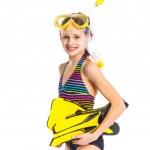 Постер, плакат: Diver girl