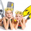 Diver girls — Stock Photo #10650925