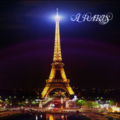 Eiffel tower by Night — Stock Photo