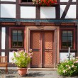 German Half-timbered house — Stock Photo #8006020